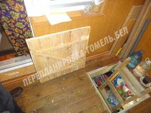 устройство погреба балкона